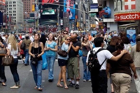 Площадь Таймс-сквер стала пешеходной. Изображение № 13.