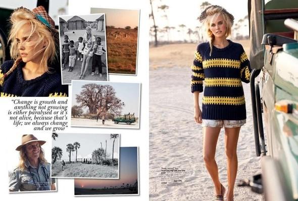 Съёмка: Изабель Лукас для австралийского Vogue. Изображение № 10.