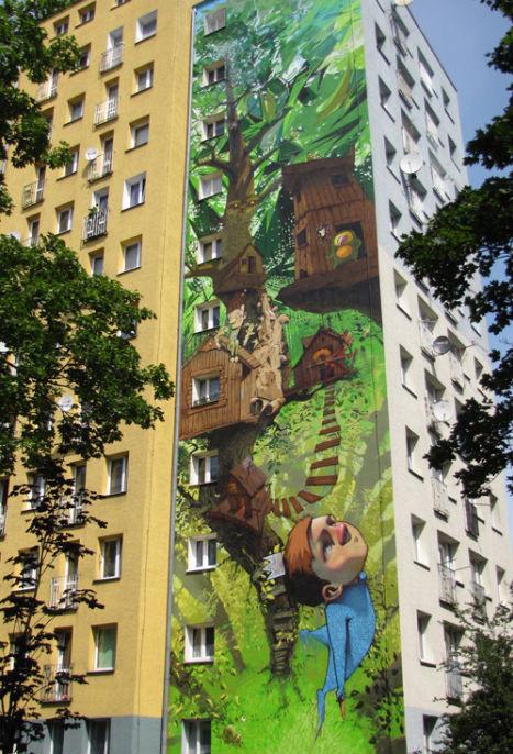 6 невероятных проектов уличных фресок. Изображение № 1.