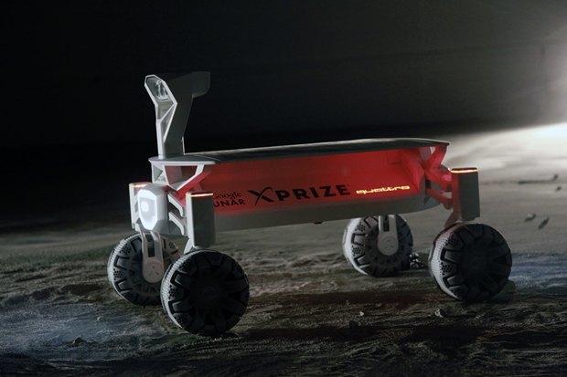 В Audi построили прототип лунохода сполным приводом. Изображение № 2.
