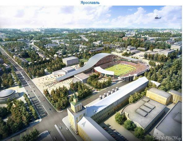 Архитектурные амбиции России для ЧМ по футболу 2018-22. Изображение № 17.