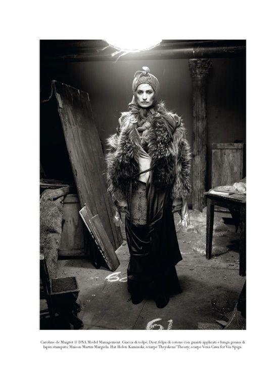"Съёмка: ""Winter's Edge"" by Steven Meisel. Видите Россию?. Изображение № 4."