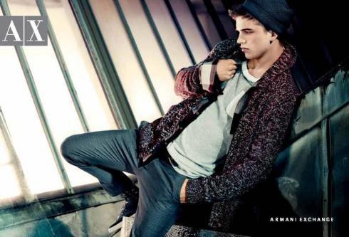 Кампания: Armani Exchange FW2011. Изображение № 5.