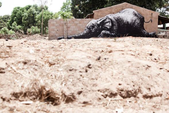 Лучшие стрит-арт проекты 2011 года. Изображение №42.