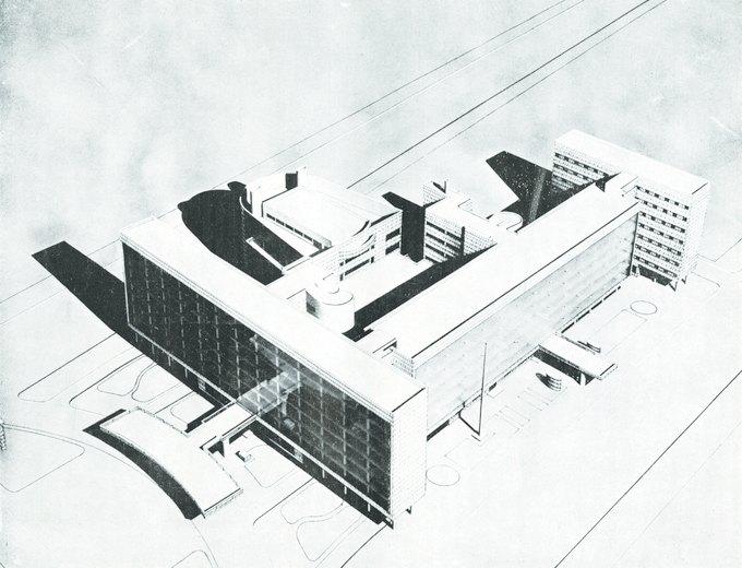 Здание Ле Корбюзье. Изображение № 2.