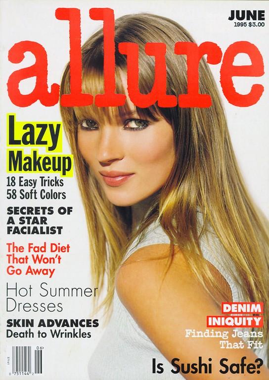 Кейт Мосс, наобложках главных модных журналов планеты. Изображение № 6.