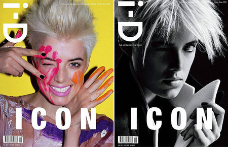 "Журнал i-D ""A wink and a smile since 1980"". Изображение № 1."