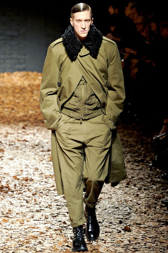 Лукбук McQ by A. McQueen F/W 2012-13, Женская и мужская коллекции. Изображение № 25.