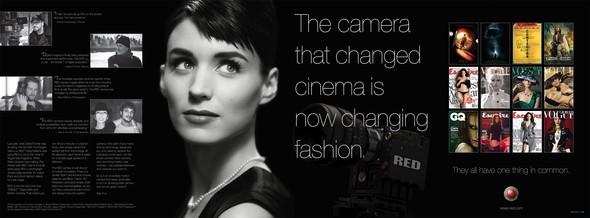Дэвид Финчер снял Руни Мару для рекламы камер RED. Изображение № 2.