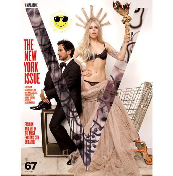 Изображение 3. Леди Гага стала колумнистом V.. Изображение № 3.