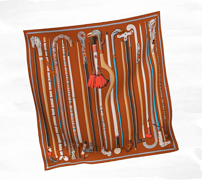 Классические шарфы Hermes. Изображение № 10.