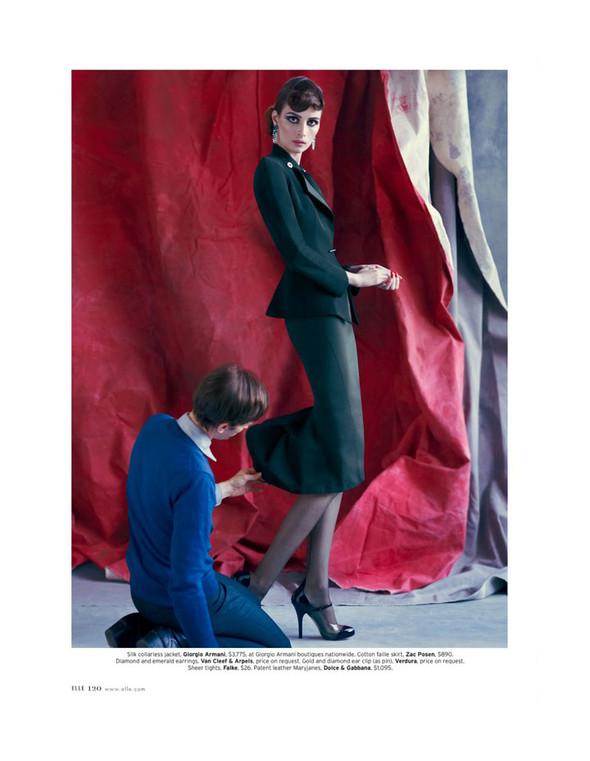 Съёмка: Сюзи Берд для Elle. Изображение № 7.