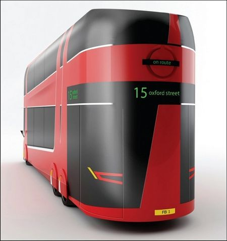 Новое поколение двухэтажных автобусов вЛондоне. Изображение № 2.