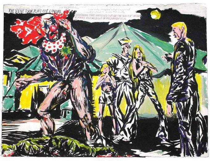 27 работ, за которые я люблю автора обложек Black Flag и Sonic Youth. Изображение № 6.