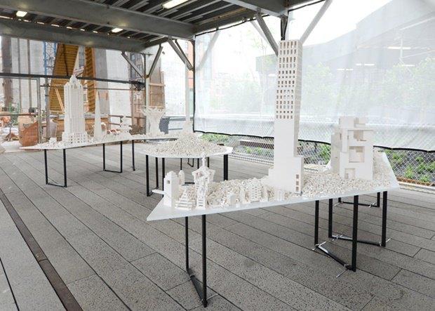 10 архитектурных бюро собрали модели зданий из белого LEGO. Изображение № 8.