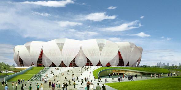Новый спортивный парк в Ханчжоу. Изображение № 5.