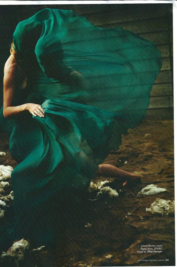 Съёмка: Уилл Дэвидсон для Harper's Bazaar. Изображение № 9.