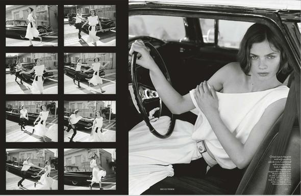 Съёмки: Harper's Bazaar, Interview, Vogue и другие. Изображение № 16.
