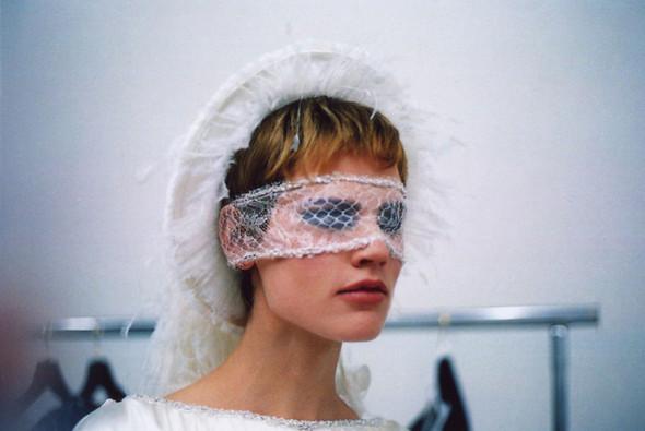 Саския де Брау после показа Chanel. Изображение № 1.