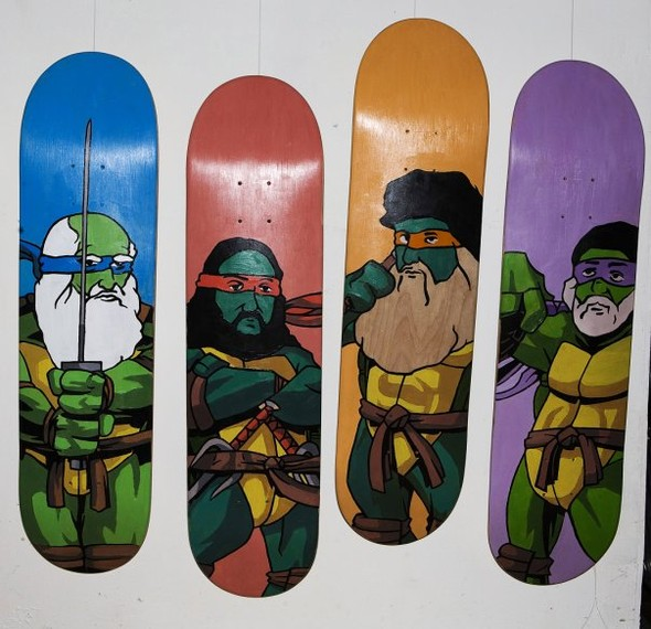 Skate restructurations или о самой большой выставки скейтов в России. Изображение № 31.