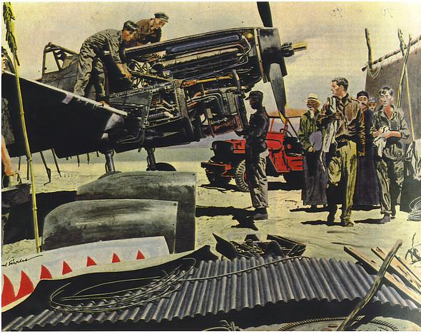 Американские иллюстраторы 40–60гг. ЧАСТЬ 1. Изображение № 68.
