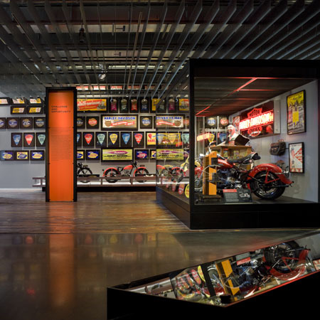 Музей Harley-Davidson вМилуоки. Изображение № 5.