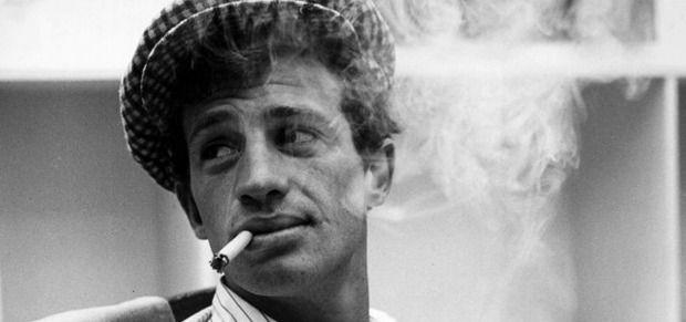 Жан-Поль Бельмондо в фильме «На последнем дыхании» (1960). Изображение № 3.