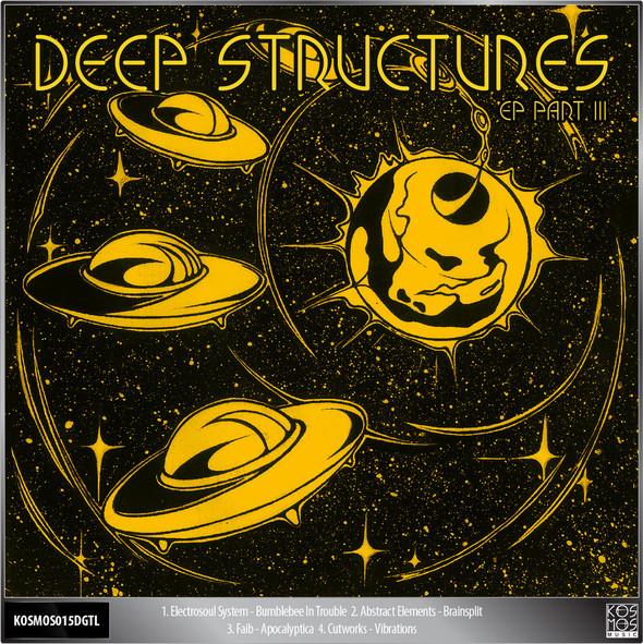 KOS.MOS.MUSIC pres. DEEP STRUCTURES EP Pt.3 /KOSMOS015DGTL. Изображение № 2.