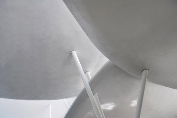 В столице Грузии возвели административное здание в виде грибов. Изображение № 6.
