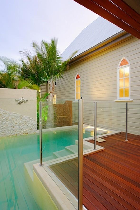 Выход к бассейну.. Изображение № 6.