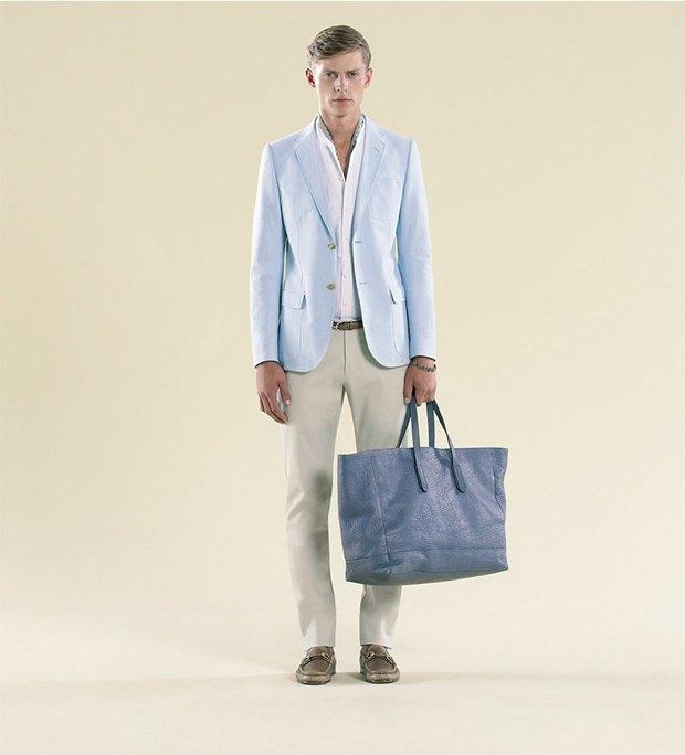 Показаны новые лукбуки Gucci, Louis Vuitton и Prada. Изображение № 41.