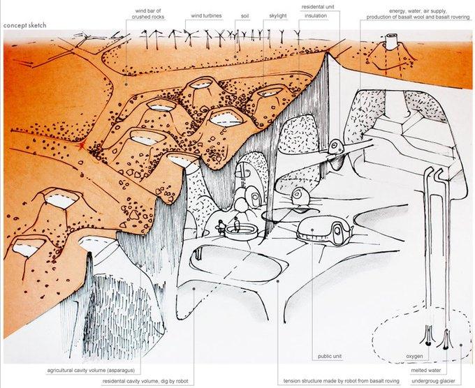 Марсианскую колонию могут построить роботы. Изображение № 7.