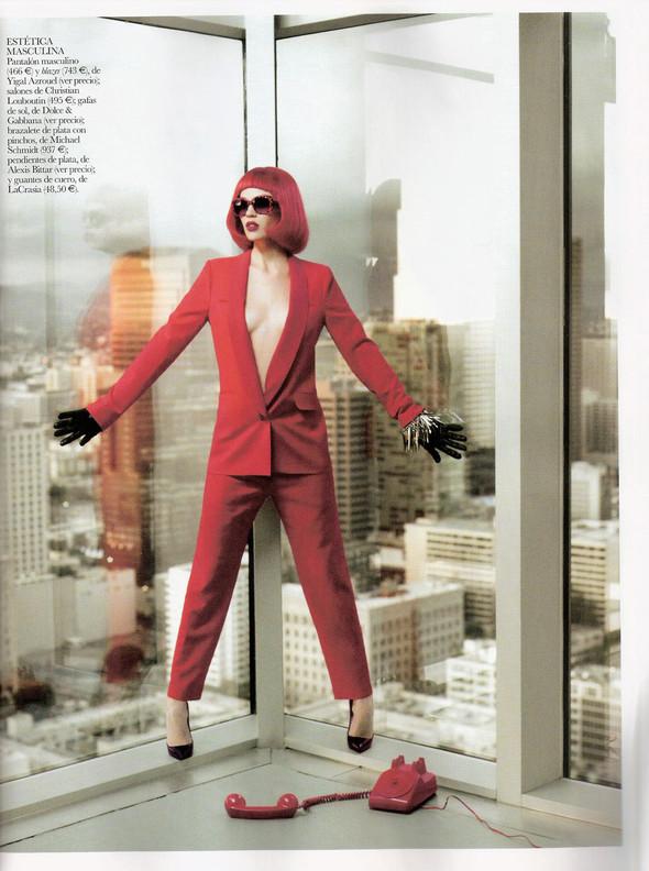 Съёмка: Бритт Марен для испанского Vogue. Изображение № 9.