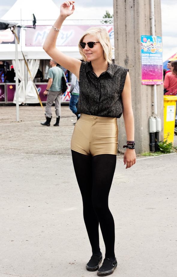 Золотые шорты, джинсовые рубашки и шляпы: Люди на фестивале MELT!. Изображение № 24.