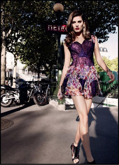 """""""Французский шик"""" для Harpers Bazaar. Изображение № 2."""