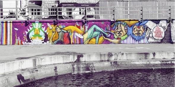 Стас Каневский: граффити во плоти. Изображение № 2.
