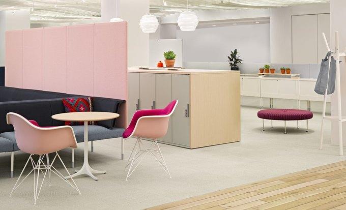 Herman Miller начал выпуск «гибкой» офисной мебели Ива Беара. Изображение № 5.