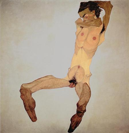 Эгон Шиле. Эротика вискусстве живописи ирисунка. Изображение № 33.