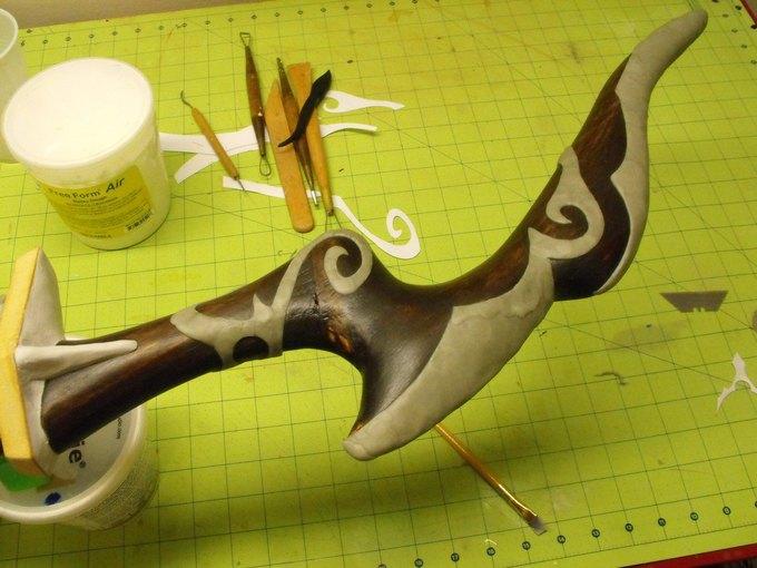 Дизайнер изготовил лук из Skyrim. Изображение № 17.