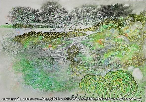 Shinkarchuk Anatoly watercolor and Japan Шинкарчук Анатолий акварель и Япония. Изображение № 22.