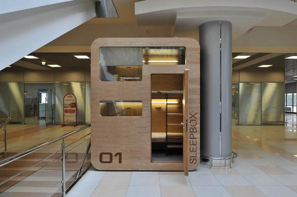 В аэропорту Шереметьево установлен капсульный отель. Изображение № 8.