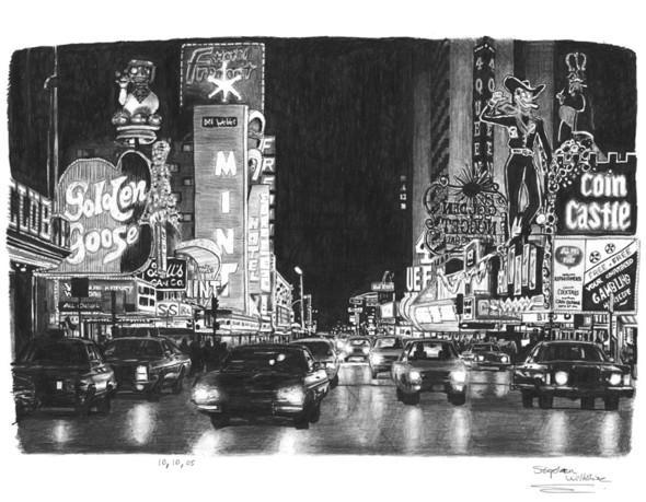 Стивен Вилтшер. Художник рисующий панорамы городов по памяти. Изображение №19.
