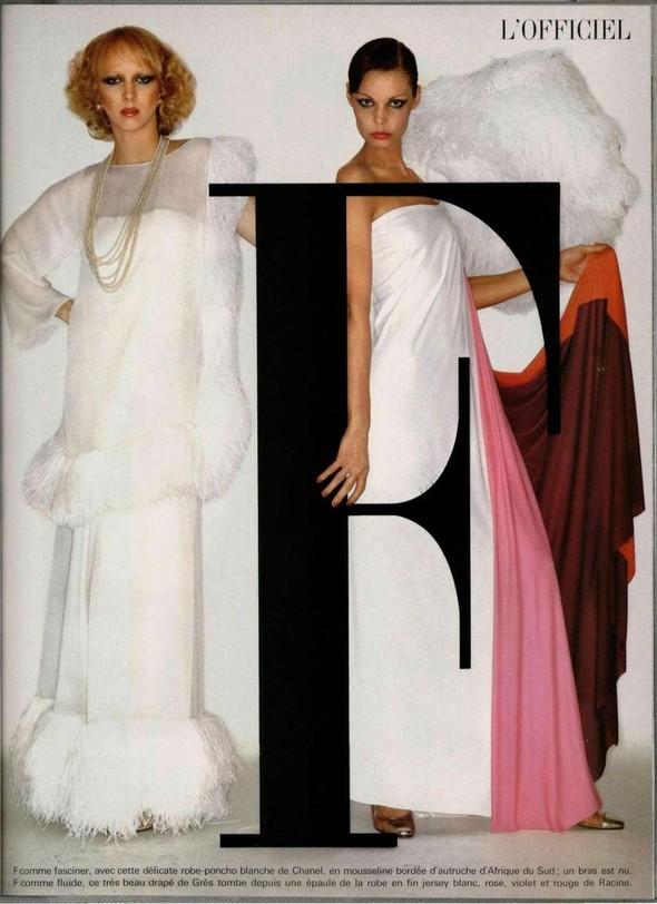 Архивная съёмка: Майкл Пикард для французского L'Officiel, 1976. Изображение № 2.