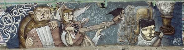 Стас Каневский: граффити во плоти. Изображение № 5.
