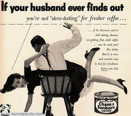 Винтажная реклама, которая бы сегодня оказалась под запретом. Изображение № 14.