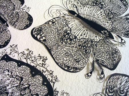 Вырезанные избумаги картины – Hina Aoyama. Изображение № 6.
