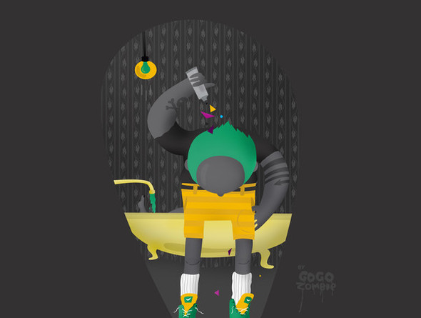 Гоу Гоу Зомби! - Иллюстратор из Санкт-Петербурга. Изображение № 10.