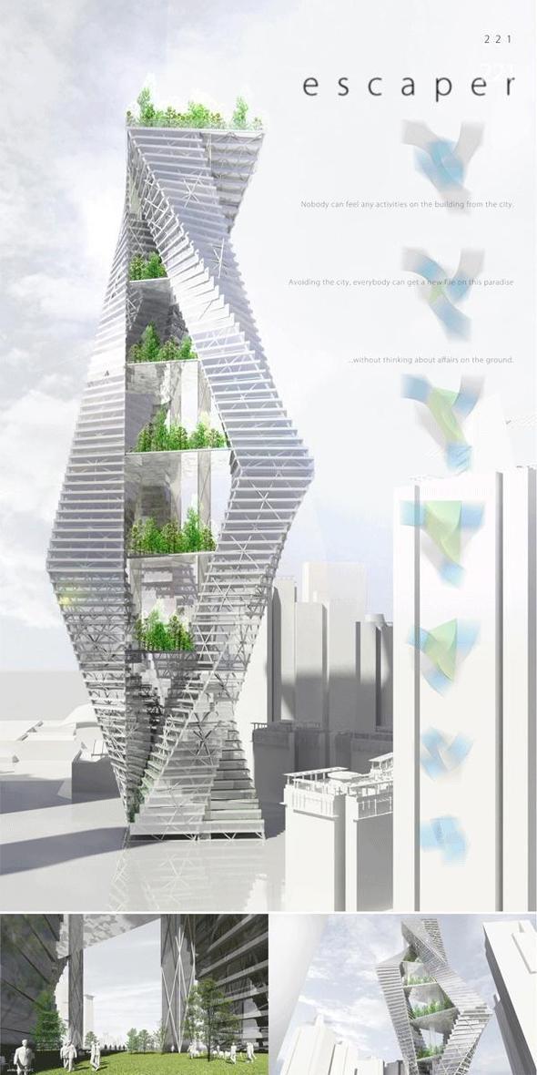 Skyscraper forXXI century – eVolo. Изображение № 5.