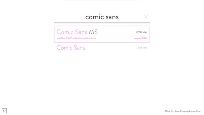 Comic Sans на 84-м месте. Изображение № 6.