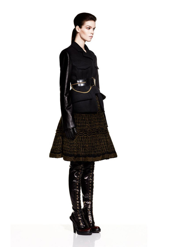 McQueen Fall 2012 Lookbook. Изображение № 3.